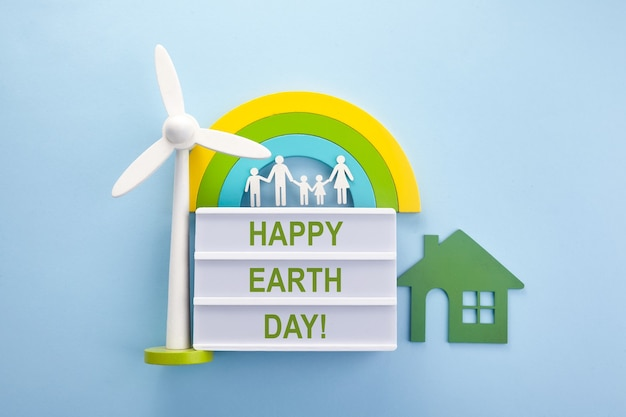 Earth day green ecology concept. eco friendly world. happy earth day. love concept. ecological background.