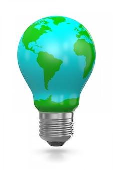 地球の電球