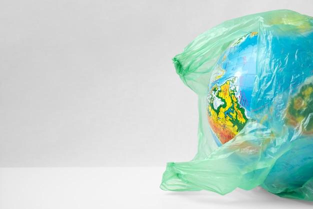 プラスチックの地球惑星、エコプラスチックの概念なし、プラスチックの地球。