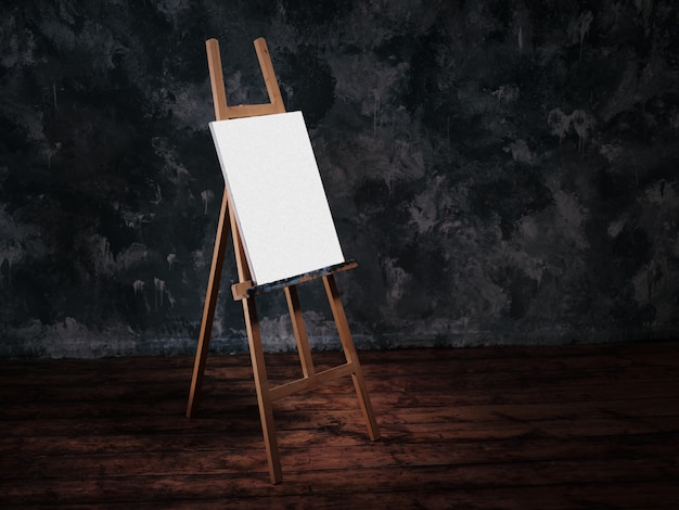 絵を描くためのイーゼル