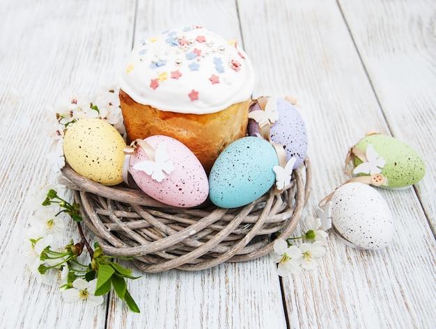 イースターパンと卵