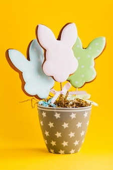 Easter bunnies cookies