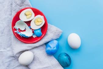 イースターひび卵