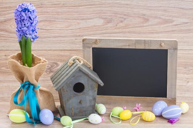 卵とイースターの装飾