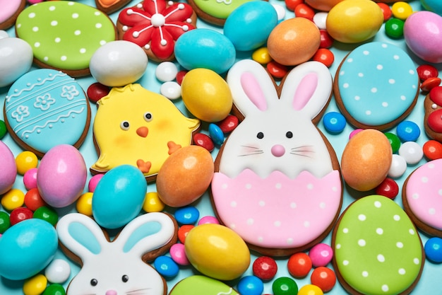 Easter gingerbread and sweets