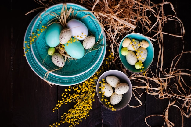Easter holiday eggs