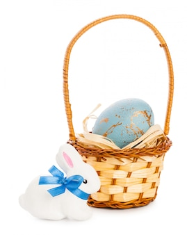 Easter . isolated on white
