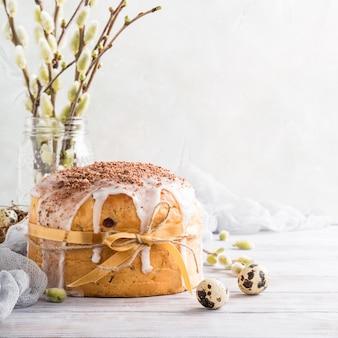 Пасхальный православный сладкий хлеб