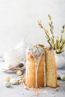 부활절 정통 달콤한 빵