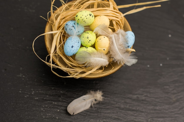 Easter rustic concept