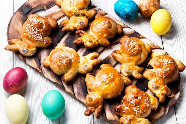 Easter symbolic bun