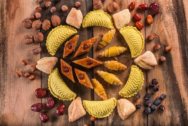 Novruz 휴일을 위한 동부 과자
