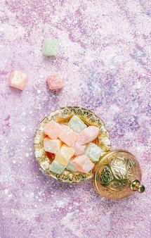 Eastern sweets.