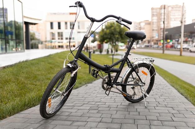 도시에서 사용하기 쉬운 접이식 자전거