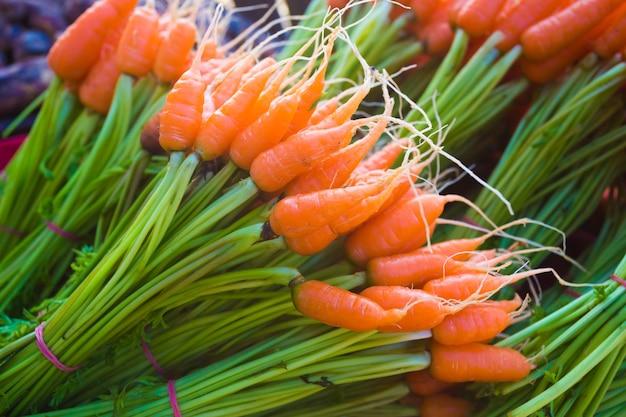 Eat fresh carrots