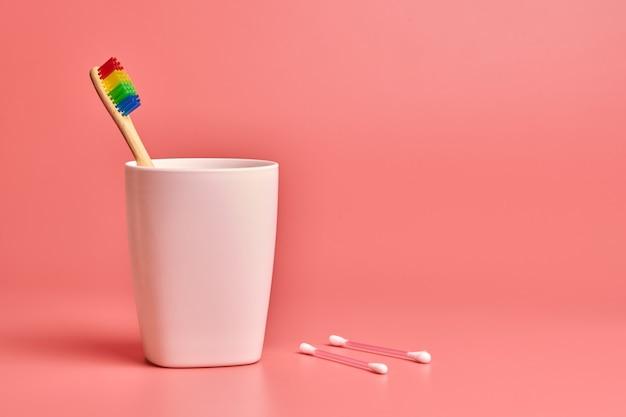 エコ竹歯ブラシと綿棒