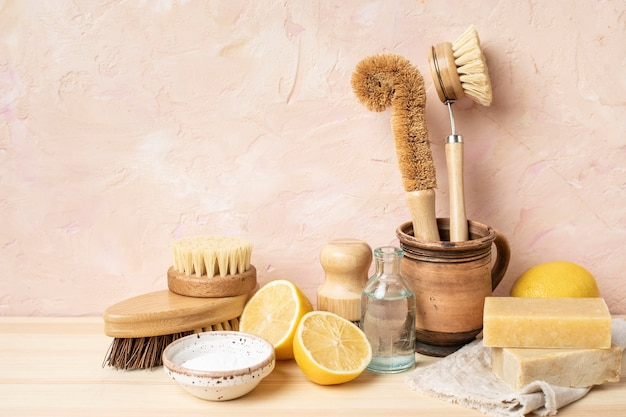 Eco cleaning products for skincare