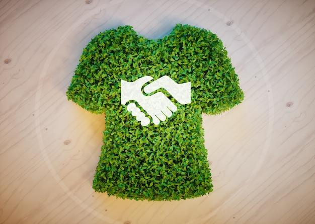 Eco fashion concept