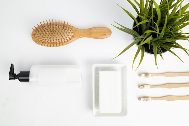 Eco-friendly bathroom products