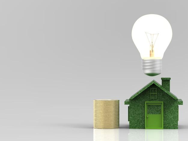 Концепция эко-дома, экономия энергии, экономия денег