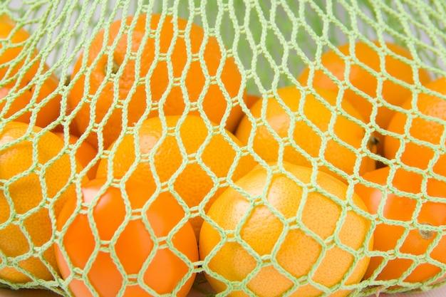 Эко сетка с апельсинами