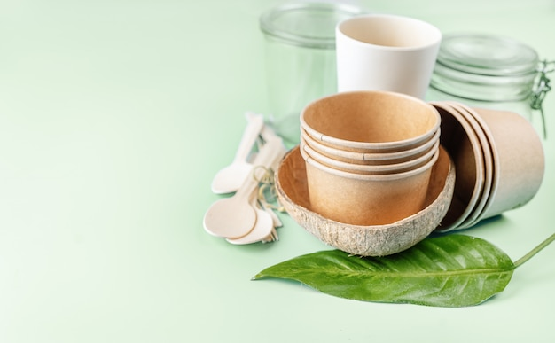 Eco tableware collection