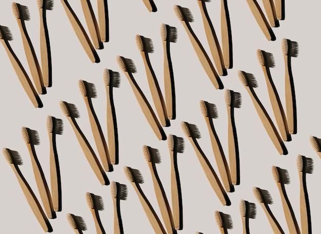 Ecofriendly bamboo brushes