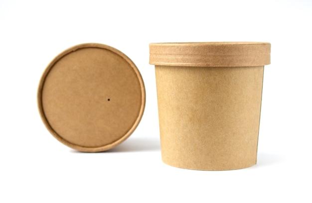 食品飲料とお茶のための環境に優しいカートン缶ゼロウェイストコンセプトで分離カートンサークルボックス