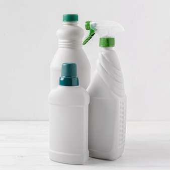 Ecological cleaning products concept