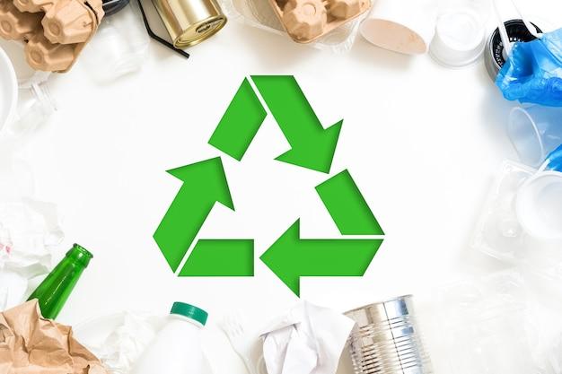 생태 개념. 폐기물 관리. 분류 및 재활용. 환경 보호.