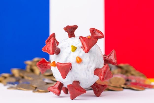 コロナウイルスのパンデミックによるフランスの経済破綻