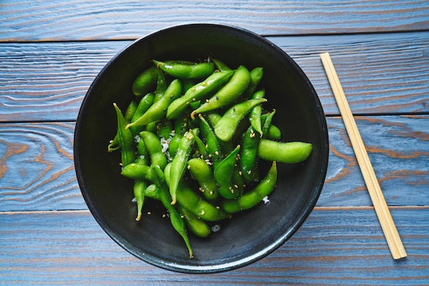 Edamame fresh soya beans immature soybeans