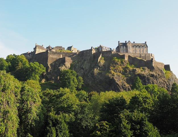 スコットランドのエディンバラ城