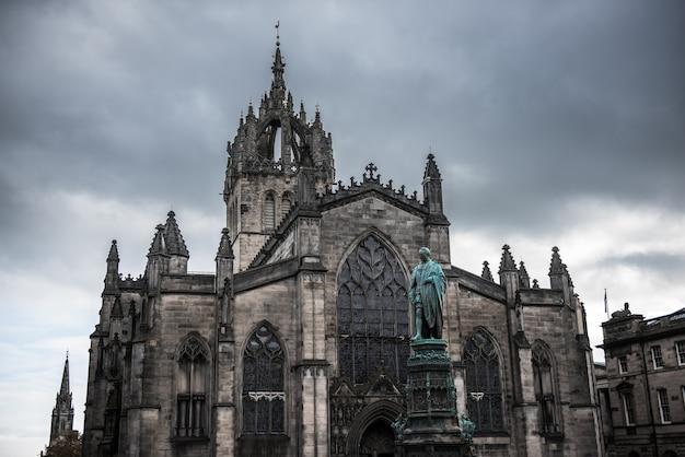 Edinburgh city in scotland, uk