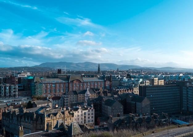 Edinburgh from the castle