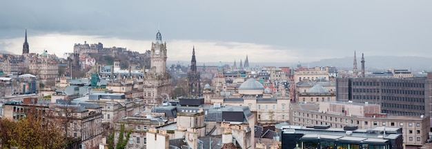 Edinburgh skyline panorama