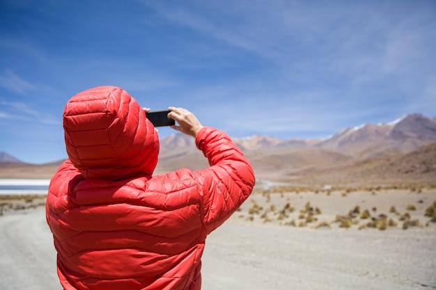 Eduardo avaroa andean fauna national reserve in bolivia