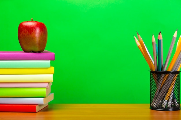 Education or back to school concept with copyspace