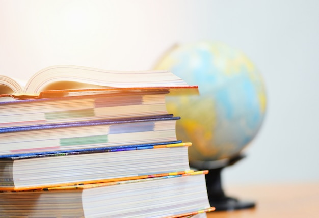 Education concept back to school and business study global world