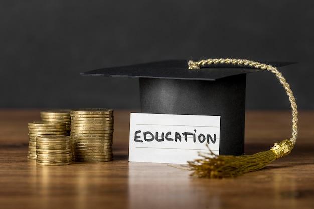 Assortimento del concetto di crescita dell'istruzione