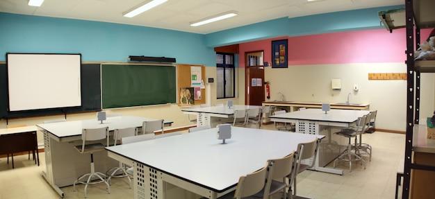 Education room laboratory