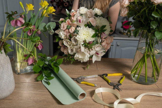Education in the school of floristry