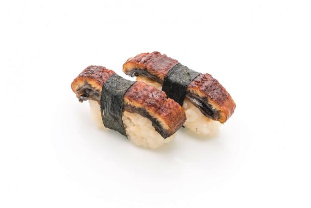 Eel nigiri sushi - japanese food style