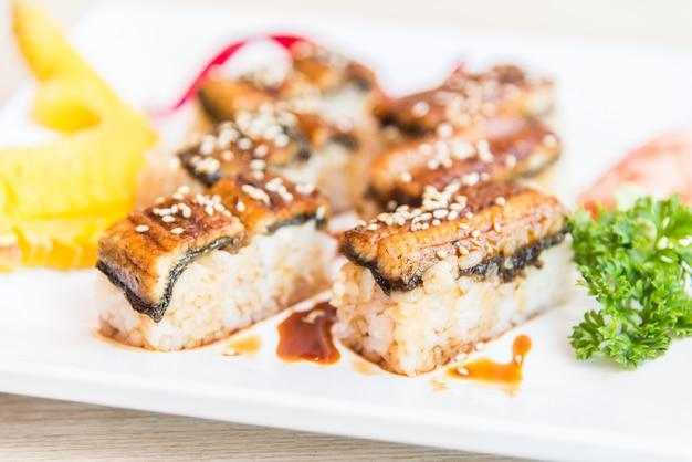 ウナギ巻き寿司
