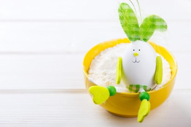 Egg decoration easter bunny