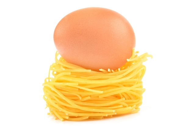 Egg and pasta
