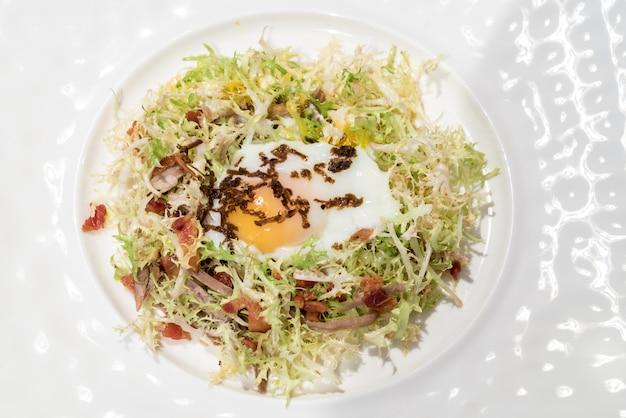 Egg salad confit