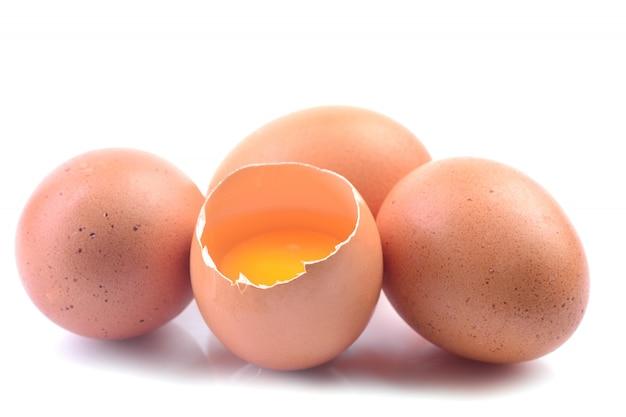 卵と分離された卵黄