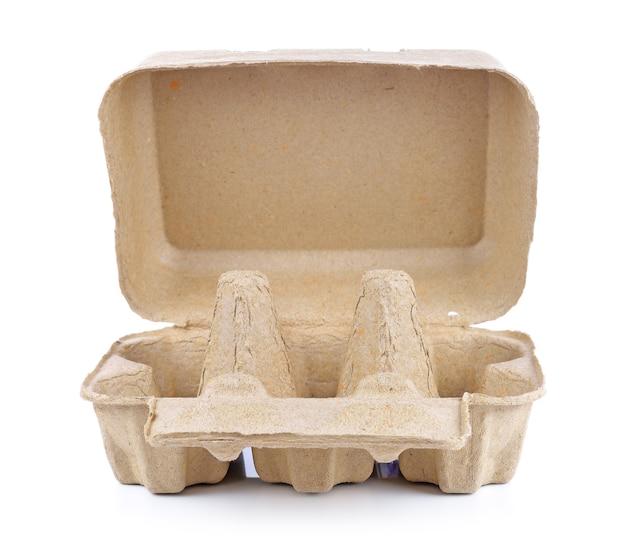계란 상자 컨테이너 또는 계란 판지 빈 패키지