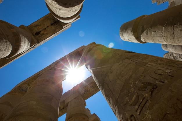 Египет, луксор, карнакский храм